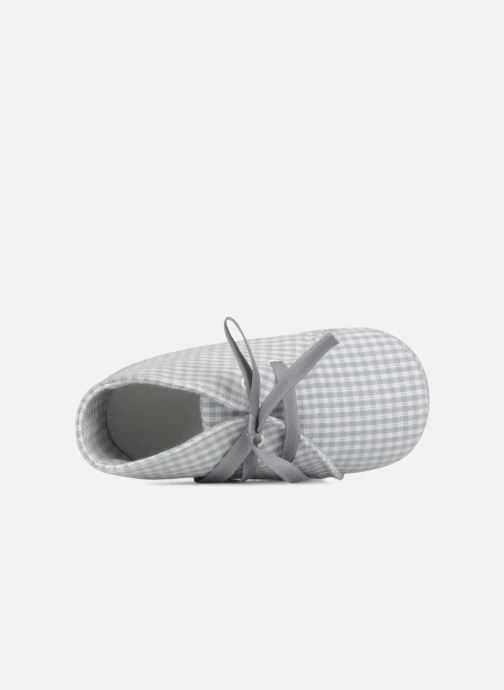 Slippers Rose & Martin Dandy Grey view from the left