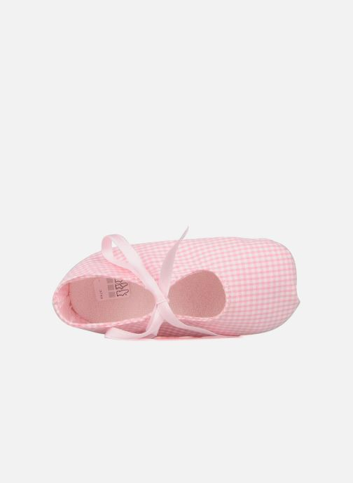Slippers Rose & Martin Delicat Pink view from the left