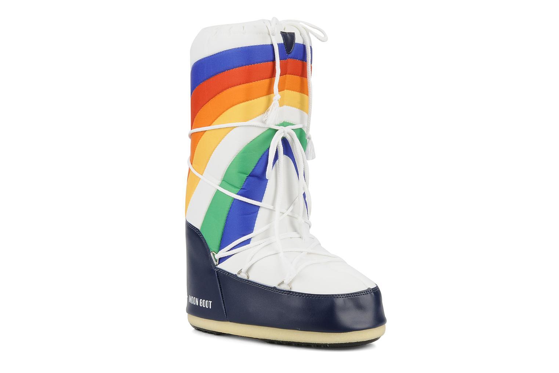 Chaussures de sport Moon Boot Rainbow Multicolore vue détail/paire