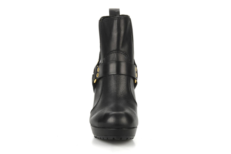 Bottines et boots French Connection Joby Noir vue portées chaussures