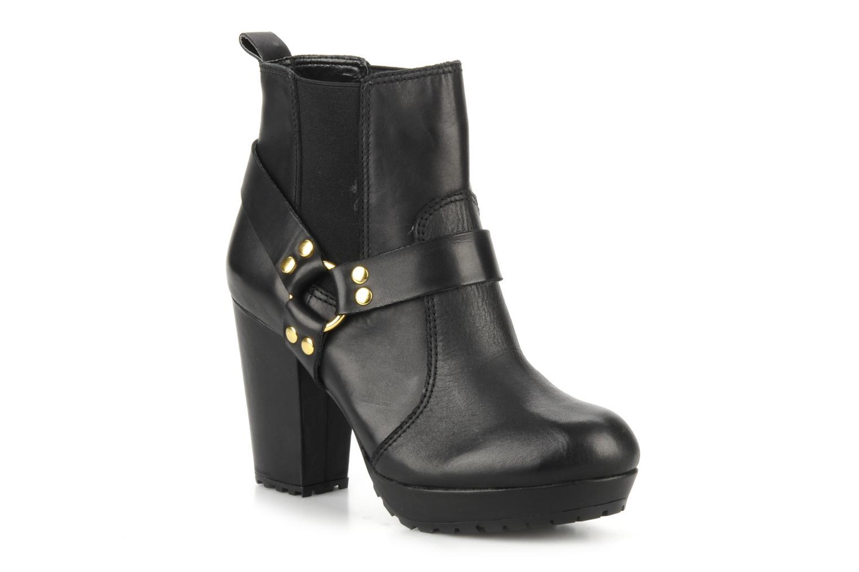 Bottines et boots French Connection Joby Noir vue détail/paire