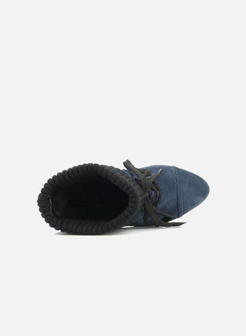 Stiefeletten & Boots French Connection Javier blau ansicht von links