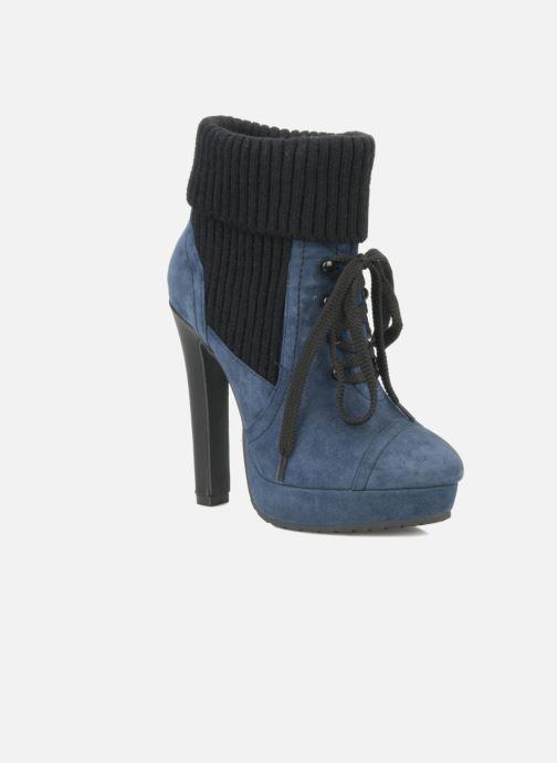 Stiefeletten & Boots French Connection Javier blau detaillierte ansicht/modell