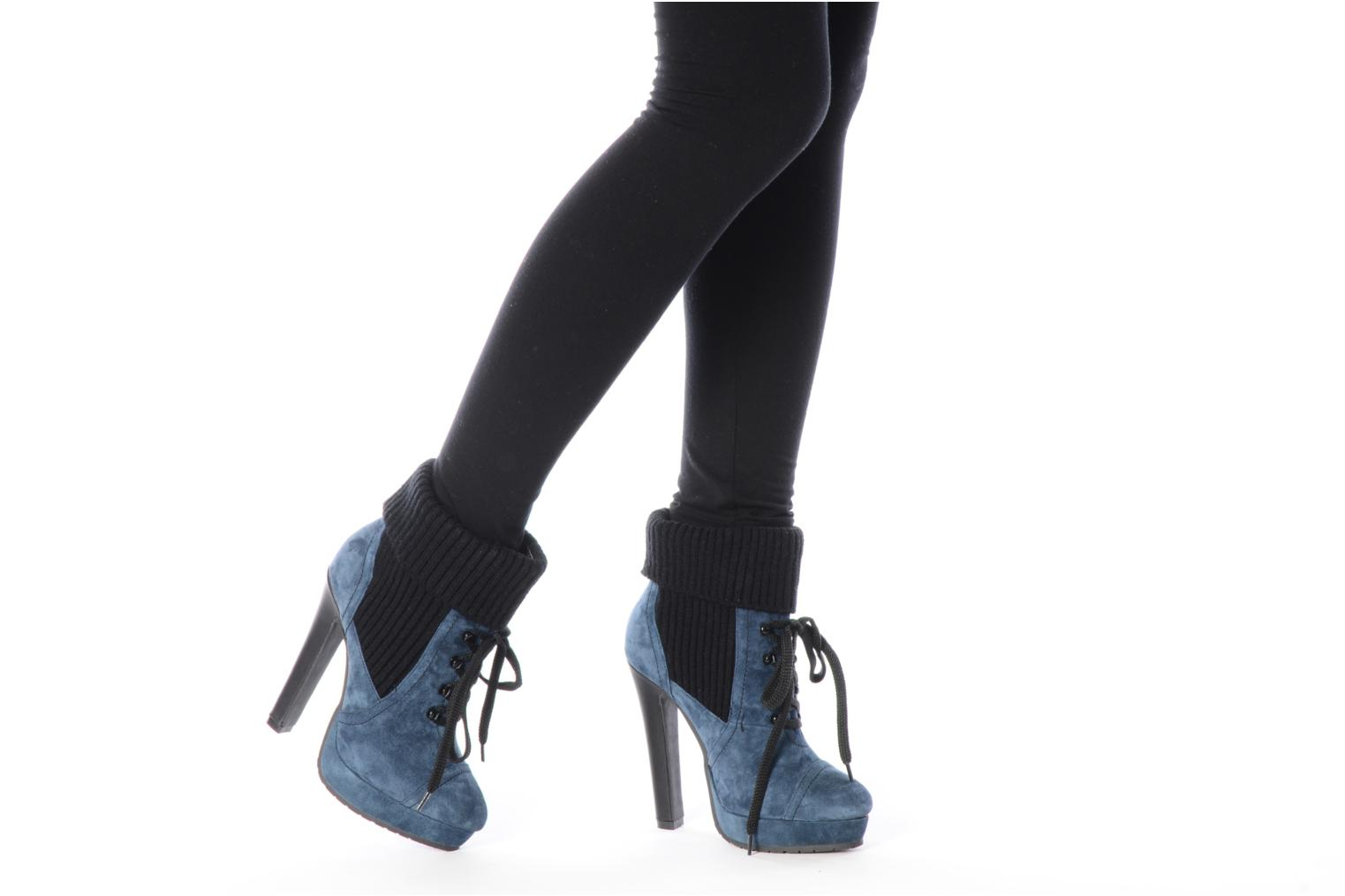 Ankle boots French Connection Javier Blue view from underneath / model view