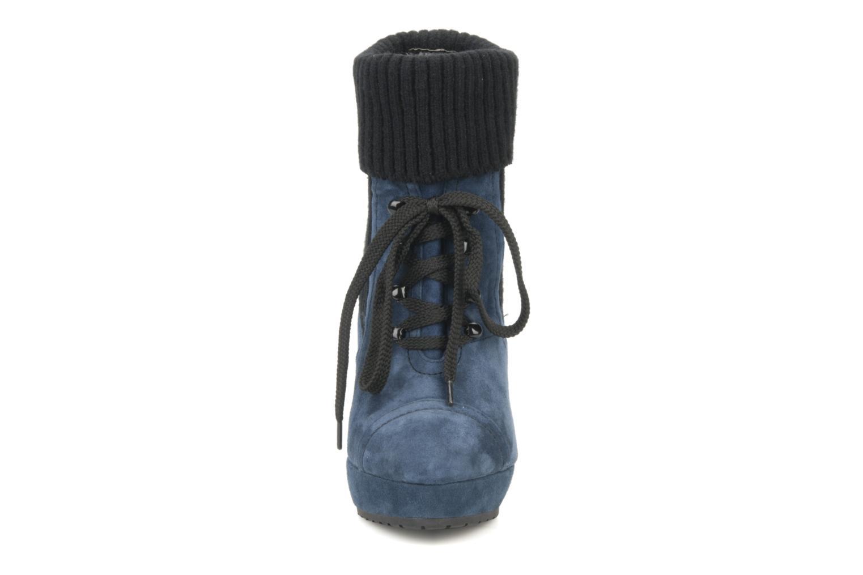 Bottines et boots French Connection Javier Bleu vue portées chaussures