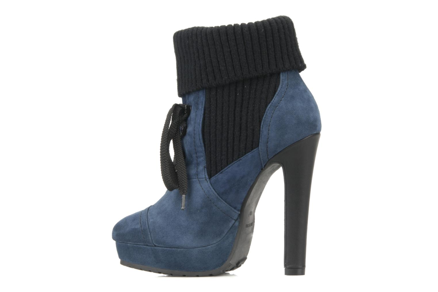 Ankle boots French Connection Javier Blue front view