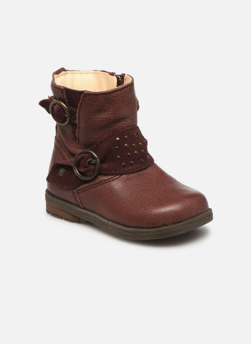 Ankle boots Primigi Corinna Burgundy detailed view/ Pair view