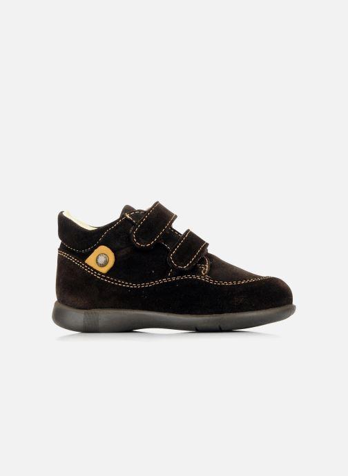Zapatos con velcro Primigi Rusty Marrón vistra trasera