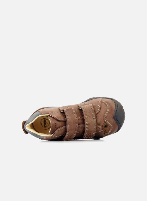 Schoenen met klitteband Primigi Bartolom Bruin links
