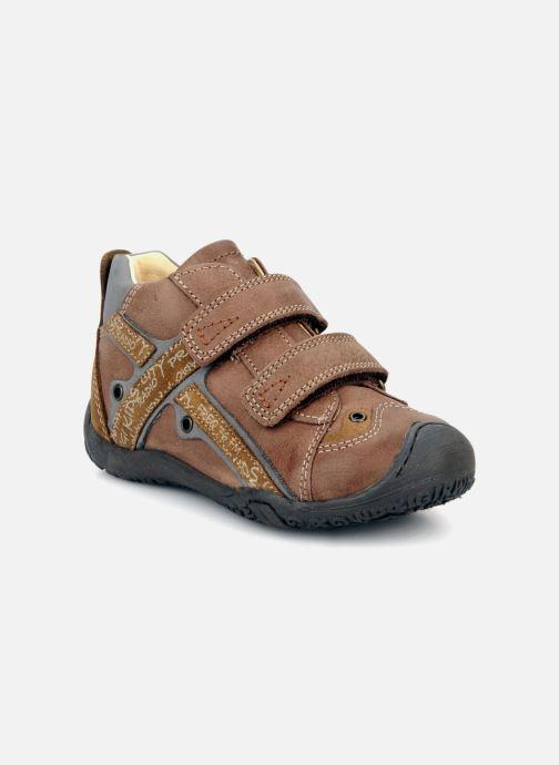 Schoenen met klitteband Primigi Bartolom Bruin detail