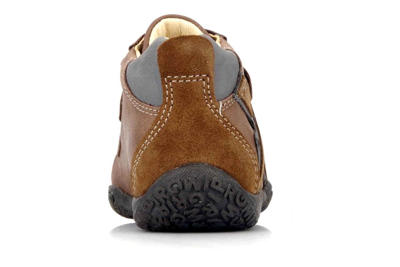 Chaussures à scratch Primigi Bartolom Marron vue droite