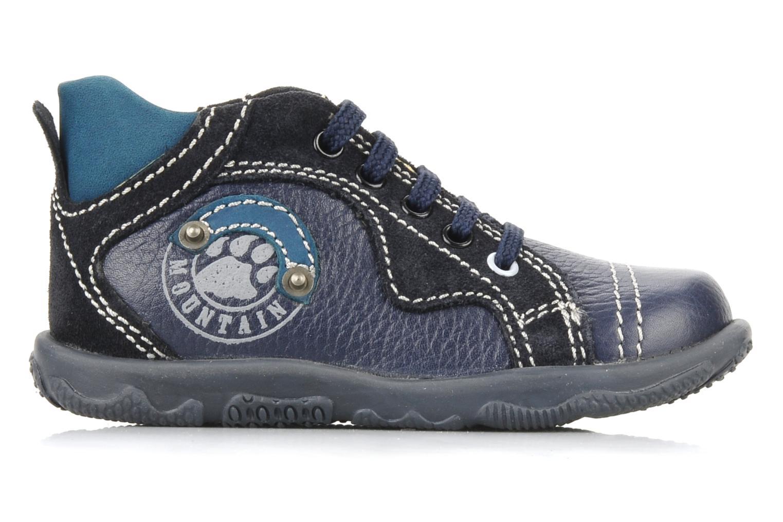 Ankle boots Primigi Daemon Blue back view