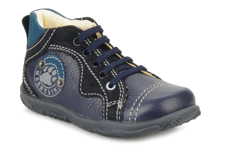 Ankle boots Primigi Daemon Blue detailed view/ Pair view