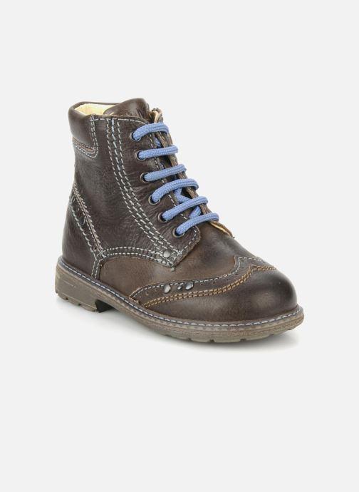 Ankelstøvler Primigi Lanfranco Brun detaljeret billede af skoene