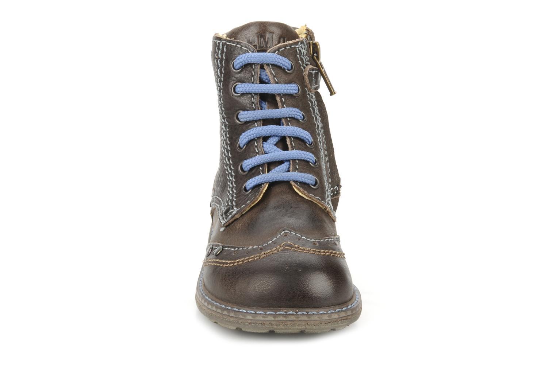 Bottines et boots Primigi Lanfranco Marron vue portées chaussures