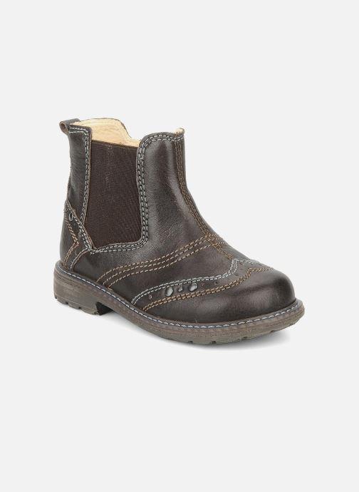 Ankelstøvler Primigi Lando Brun detaljeret billede af skoene