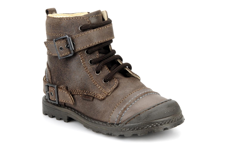 Bottines et boots Primigi Stant Marron vue détail/paire
