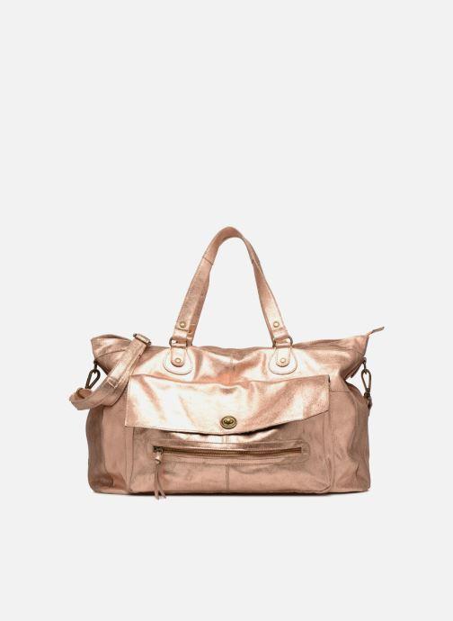 Sacs à main Pieces Totally Royal leather Travel bag Or et bronze vue détail/paire