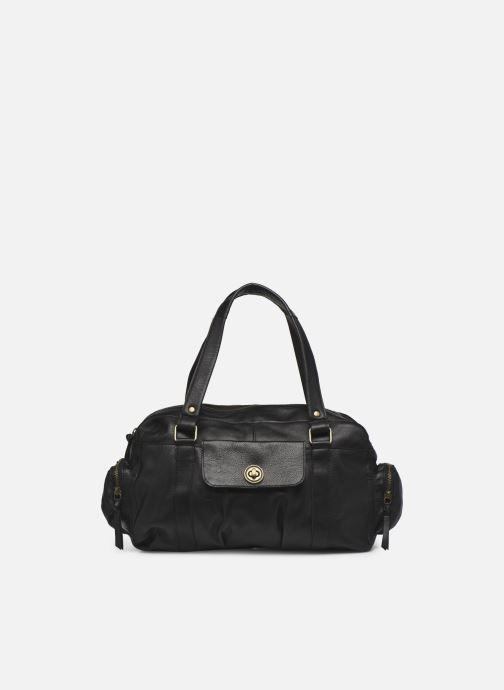 Handtaschen Pieces Totally Royal leather Travel bag schwarz detaillierte ansicht/modell