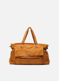Borse Borse Totally Royal leather Travel bag