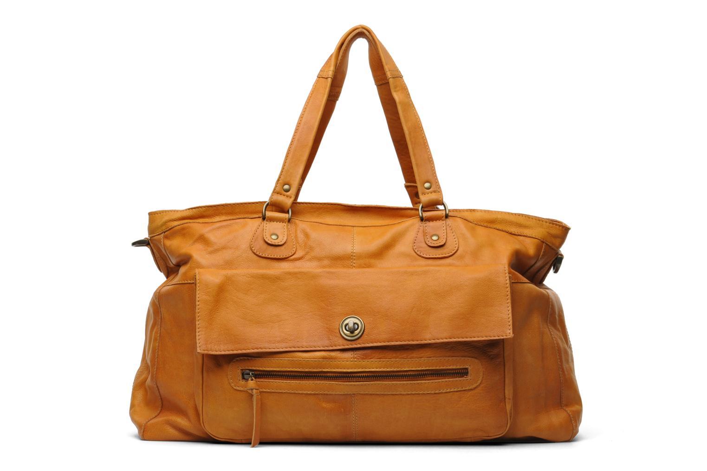 Handtaschen Pieces Totally Royal leather Travel bag braun detaillierte ansicht/modell