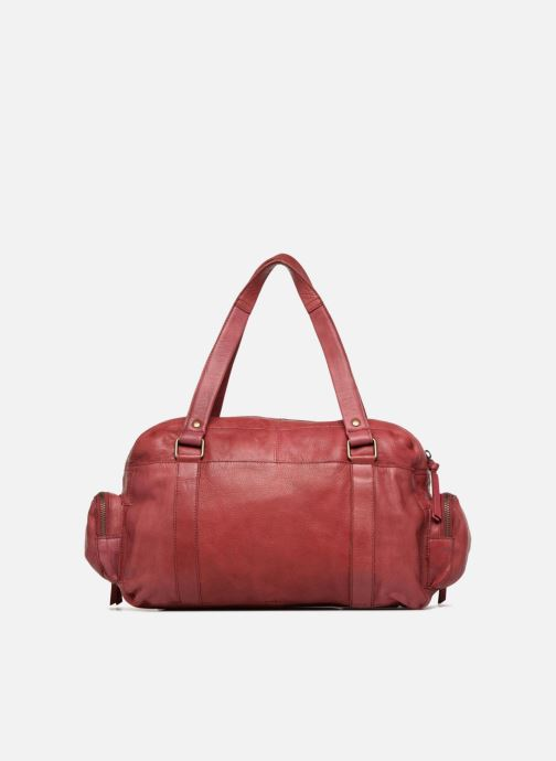 Borse Pieces Totally Royal leather Small bag Bordò immagine frontale