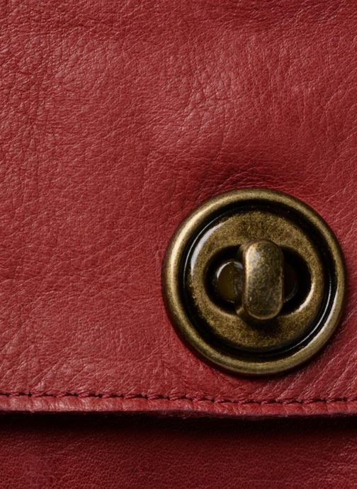 Borse Pieces Totally Royal leather Small bag Bordò immagine sinistra