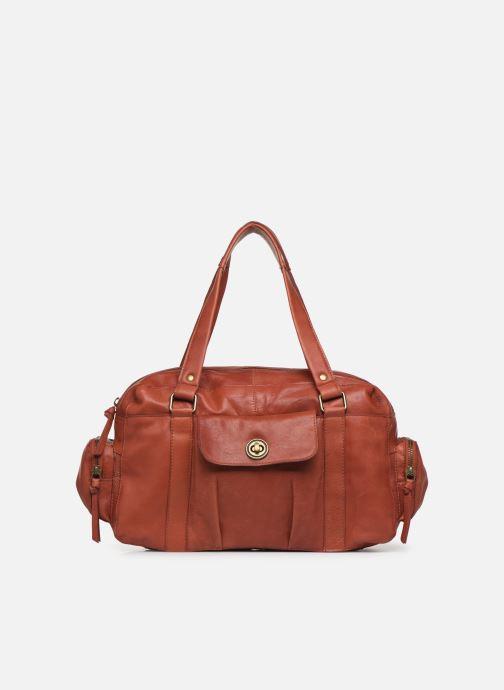 Borse Pieces Totally Royal leather Small bag Rosso vedi dettaglio/paio
