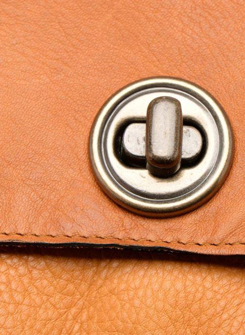 Handtaschen Pieces Totally Royal leather Small bag braun ansicht von links