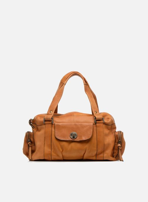 Handtassen Pieces Totally Royal leather Small bag Bruin detail