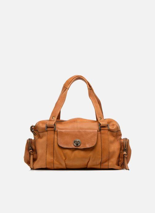 Sacs à main Pieces Totally Royal leather Small bag Marron vue détail/paire