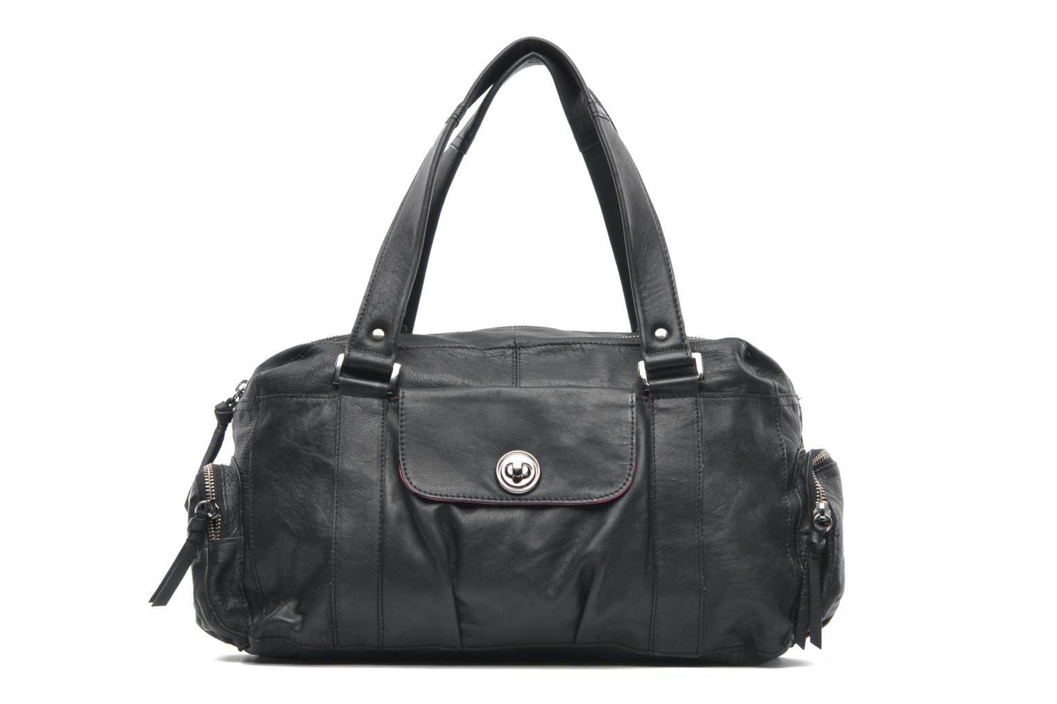 Sacs à main Pieces Totally Royal leather Small bag Noir vue détail/paire