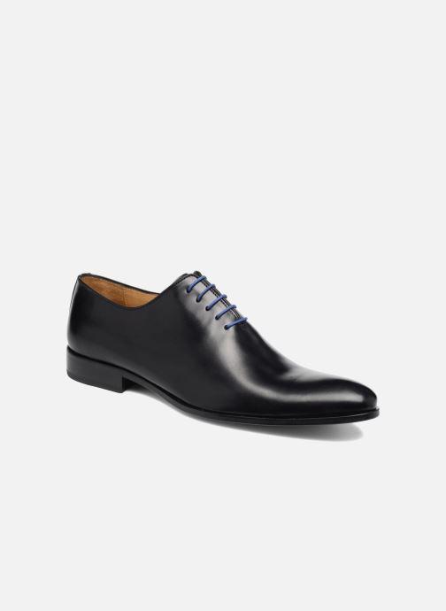 Snøresko Brett & Sons Gabe Sort detaljeret billede af skoene