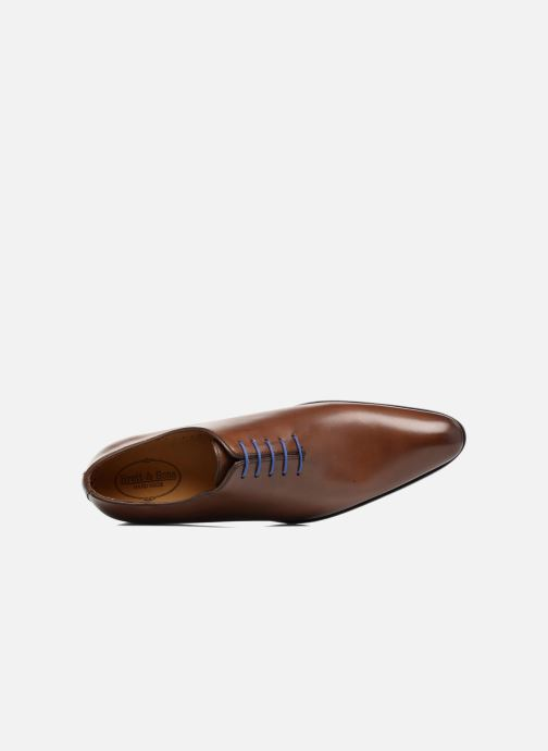 Scarpe con lacci Brett & Sons Côme Marrone immagine sinistra