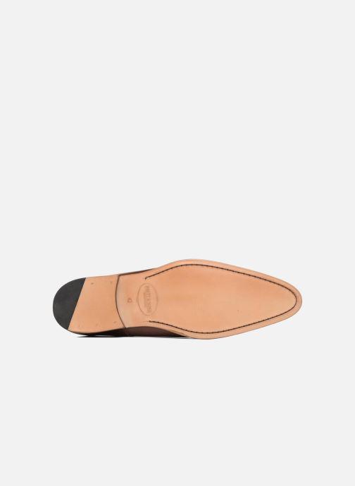 Chaussures à lacets Brett & Sons Côme Marron vue haut