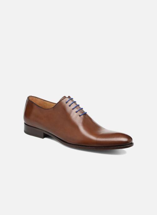 Snøresko Brett & Sons Gabe Brun detaljeret billede af skoene