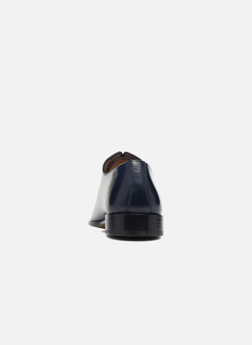 Lace-up shoes Brett & Sons Côme Blue view from the right