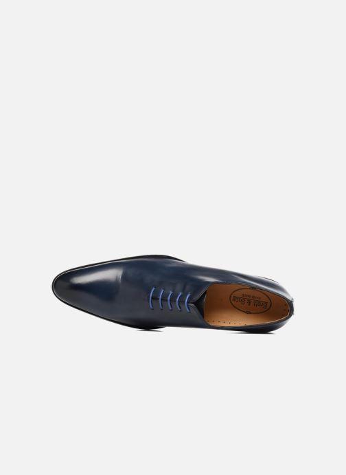 Chaussures à lacets Brett & Sons Côme Bleu vue gauche