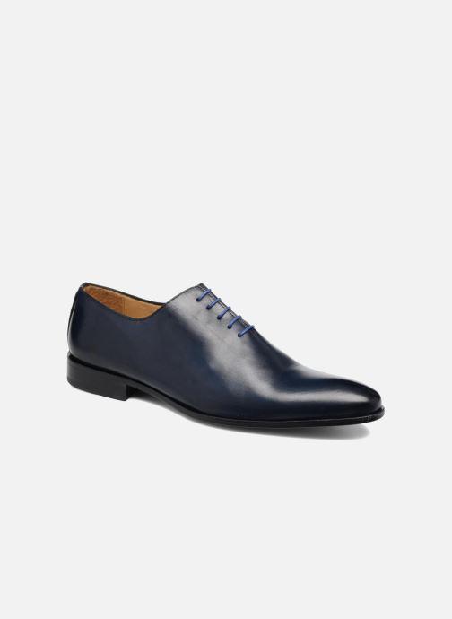 Chaussures à lacets Brett & Sons Côme Bleu vue détail/paire