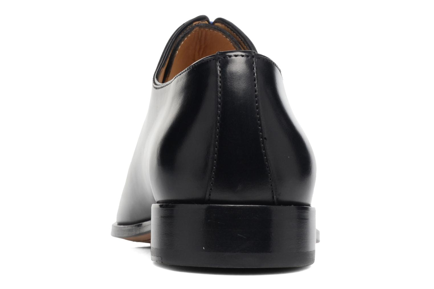 Lace-up shoes Brett & Sons Côme Black view from the right