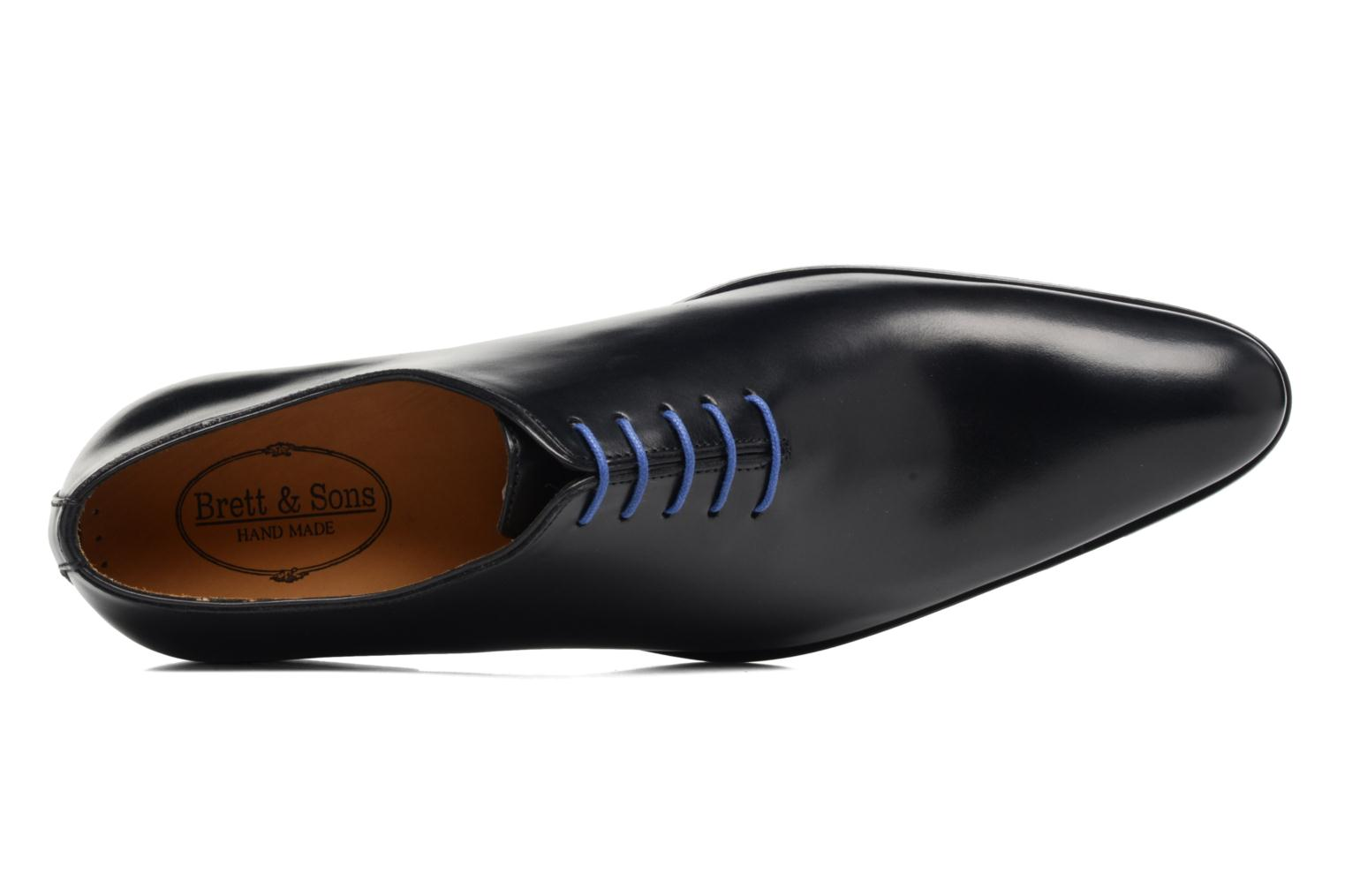 Lace-up shoes Brett & Sons Côme Black view from the left