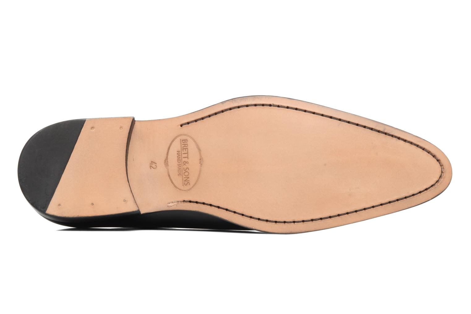 Lace-up shoes Brett & Sons Côme Black view from above