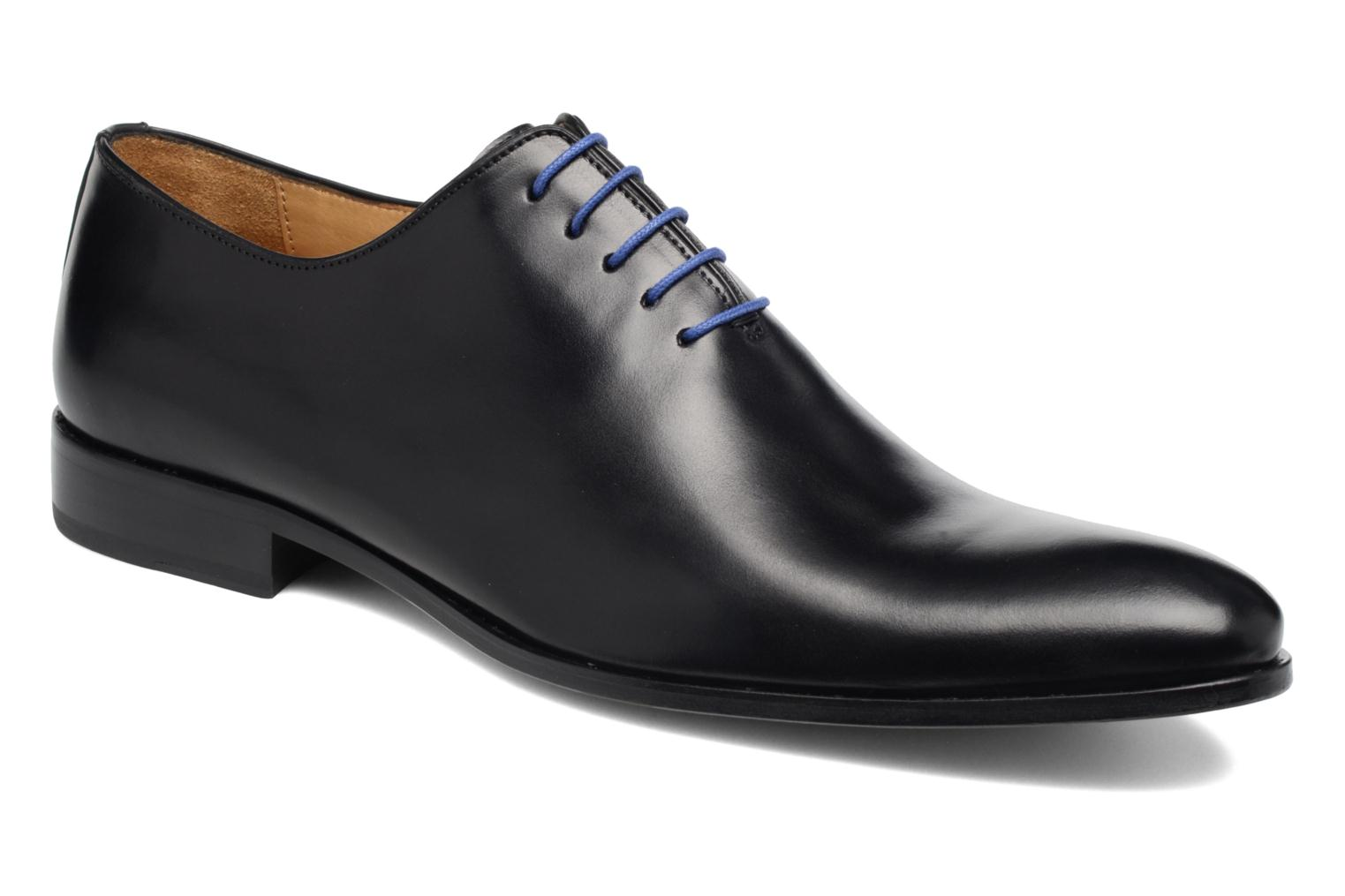 Lace-up shoes Brett & Sons Côme Black detailed view/ Pair view