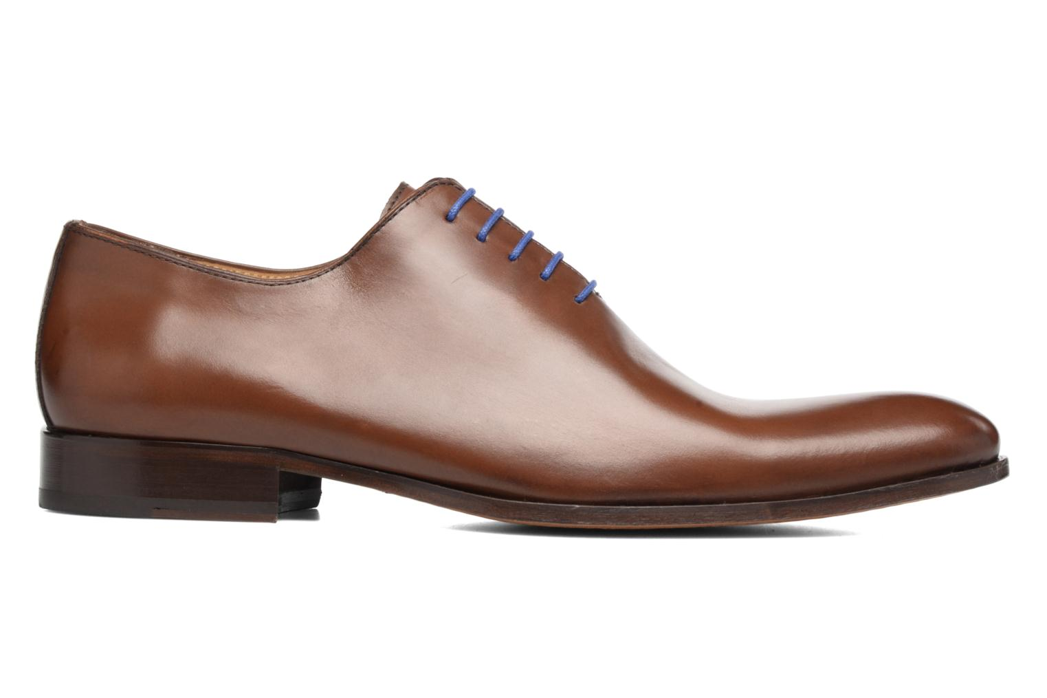 Lace-up shoes Brett & Sons Côme Brown back view