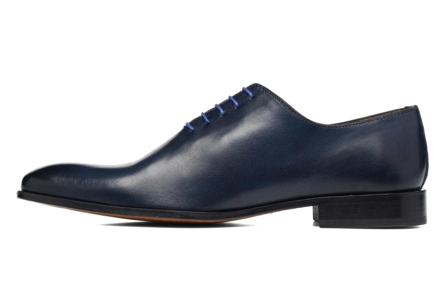 Lace-up shoes Brett & Sons Côme Blue front view