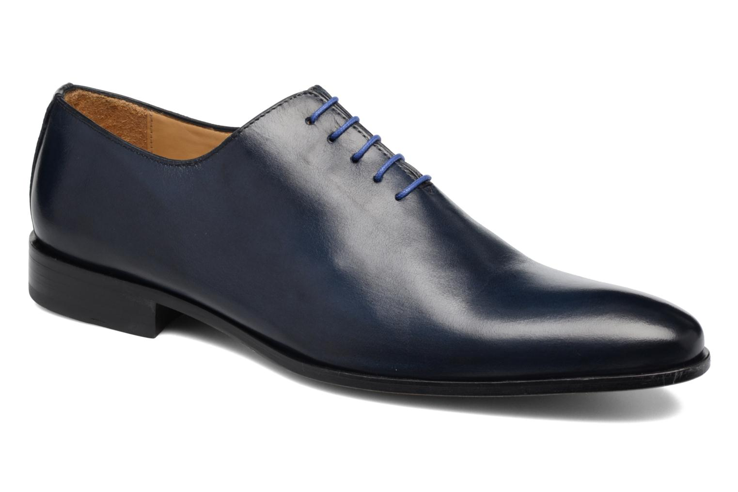 Lace-up shoes Brett & Sons Côme Blue detailed view/ Pair view