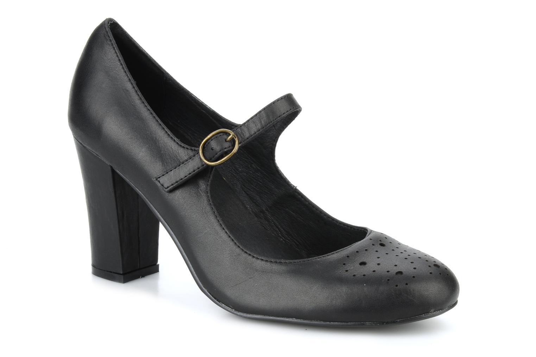 High heels Georgia Rose Yara Black detailed view/ Pair view
