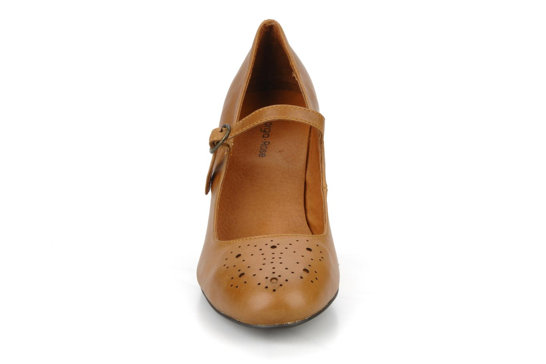 Escarpins Georgia Rose Yara Marron vue portées chaussures