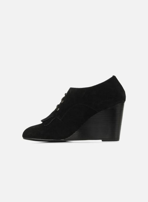 Zapatos con cordones Georgia Rose Azalea Negro vista de frente