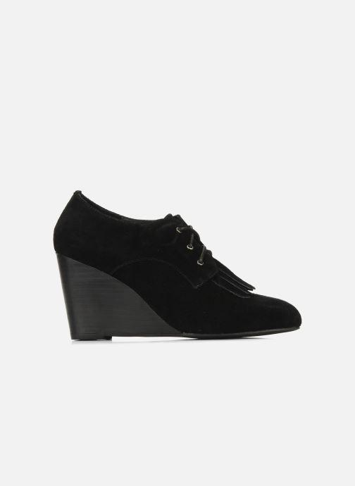 Zapatos con cordones Georgia Rose Azalea Negro vistra trasera